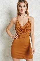 Forever 21 Draped Mini Dress