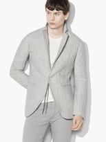 John Varvatos Crinkled Single-Button Jacket