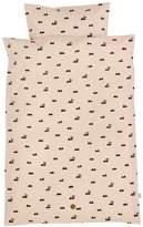 ferm LIVING Rabbit Print Baby Bedding