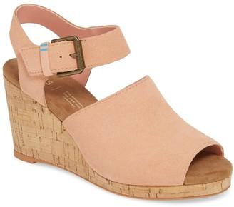 Toms Tropez Wedge Sandal