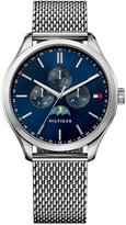 Tommy Hilfiger Men's Sport Lux Stainless Steel Mesh Bracelet Watch 42mm 1791302