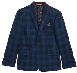 Tallia Plaid Jacket