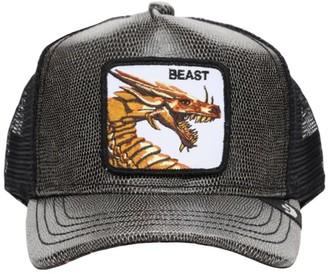 Goorin Bros. Faux Leather Trucker Beast Hat W/Patch
