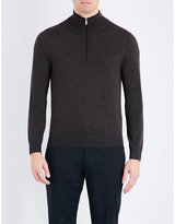 Paul Smith Half-zip Wool Jumper