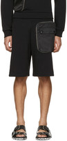 Givenchy Black Detachable Pocket Shorts