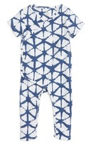 Aden Anais Infant Boy's Aden + Anais Short Sleeve Kimono Footie
