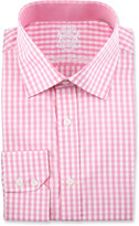 English Laundry Check Long-Sleeve Dress Shirt, Pink