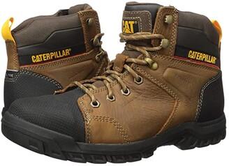Caterpillar Wellspring Waterproof Metatarsal Guard Steel Toe (Real Brown Leather) Women's Work Boots