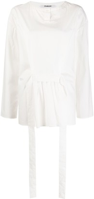 Chalayan Belted Tunic Top
