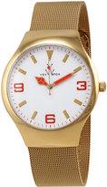 Toy Watch ToyWatch Golden Mesh Bracelet Watch, Orange