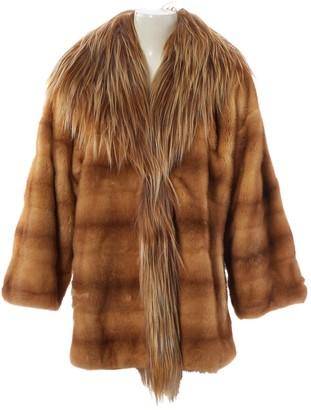 Valentino Beige Mink Coat for Women