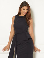 New York & Co. Eva Mendes Collection - Joana Belted Peplum Top