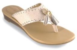 Lindsay Phillips Margo Wedge Thong Sandal Women's Shoes