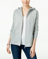 Karen Scott Quilted Hoodie, Only at Macy's