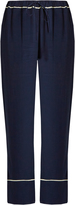 Marni Wide-leg crepe trousers