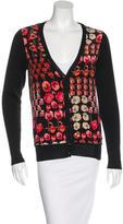 Gucci Wool & Silk-Blend Flora Cardigan