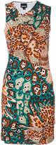 Just Cavalli graphic print mini dress