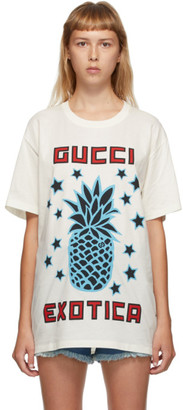 Gucci Off-White Exotica Oversize T-Shirt