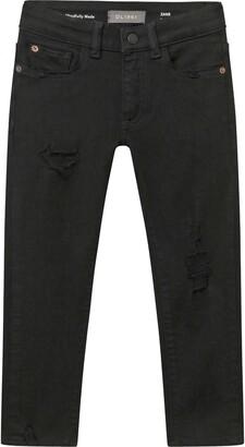 DL1961 Kids' Zane Ripped Skinny Jeans