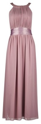 Dorothy Perkins Womens **Showcase Petite Dusky Pink 'Emily' Maxi Dress, Pink