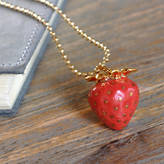 Undercover Strawberry Charm Necklace