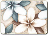 Cinnamon Ocean Frangipani Placemats set of six