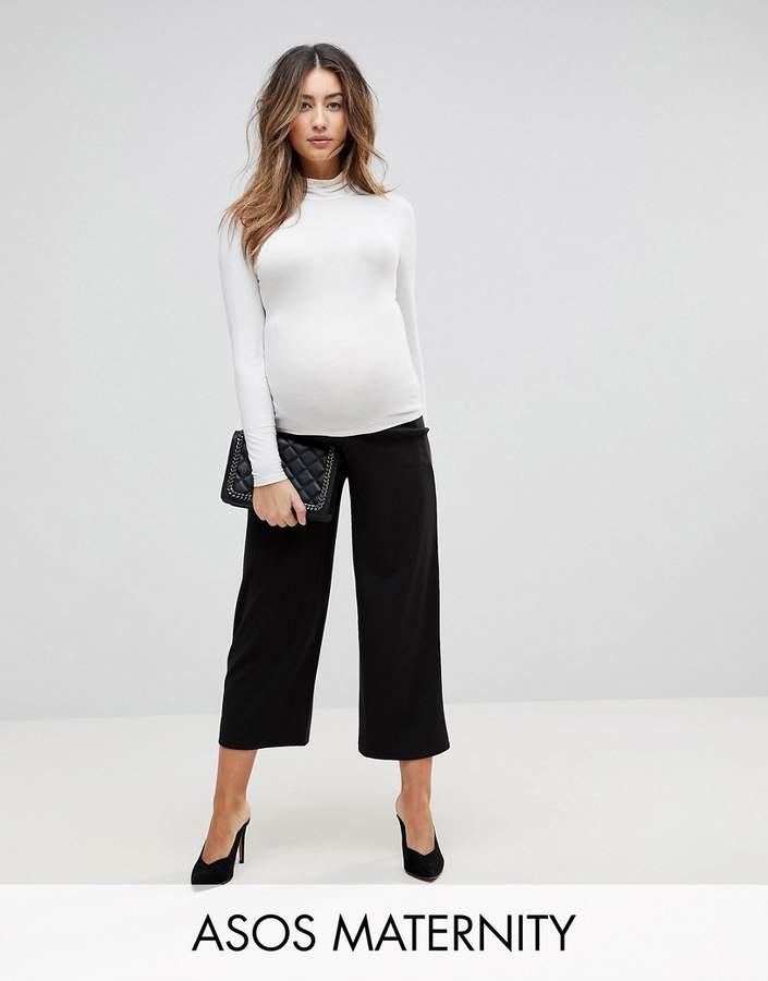 439b97c57 Asos Black Maternity Pants - ShopStyle