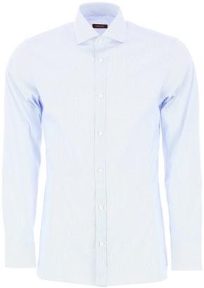 Ermenegildo Zegna Pinstripe Tailored Shirt