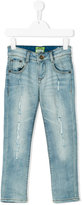 Vingino distressed jeans - kids - Cotton/Spandex/Elastane - 4 yrs