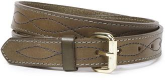 Antik Batik Leather Belt