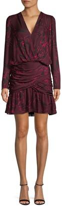 A.L.C. Floral Silk Mini Dress