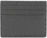 Fendi six-slot card holder - men - Calf Leather - One Size