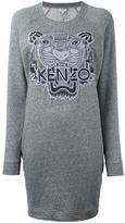 Kenzo 'Tiger' sweatshirt dress - women - Cotton - M