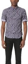 Marc Jacobs Lenny Leopard Short Sleeve Shirt