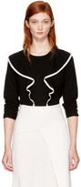 Chloé Black Ruffle Sweater