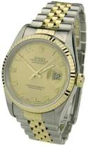 Rolex Rolex Datejust Steel & Gold 16233