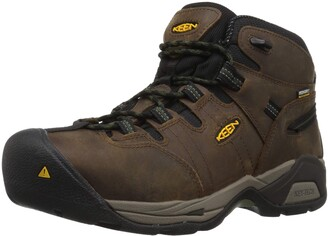 Keen Men's Detroit Xt Mid Steel Toe Waterproof Industrial Boot 16 D Us Work