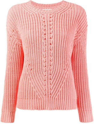 Chinti and Parker Ribbed Knit Sweater