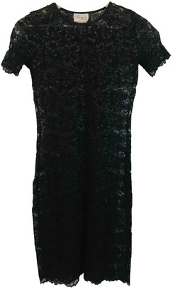 Max Mara Black Lace Dress for Women Vintage