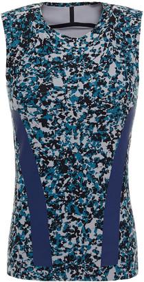 adidas by Stella McCartney Alphaskin Printed Stretch Tank