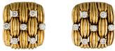 Tiffany & Co. 18K Diamond Woven Earrings