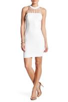 Dress the Population Erin Halter Cutout Sleeveless Dress