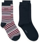 Gant 2-Pack Solid & Multistripe Socks