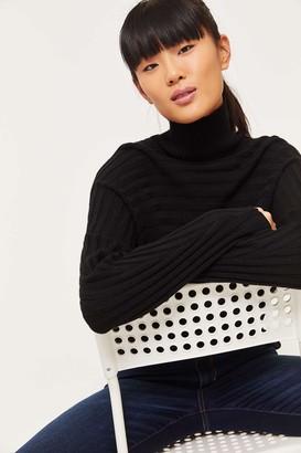 Ardene Eco-Conscious Recycled Fabric Mock Neck Sweater