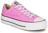 Converse Chuck Taylor All Star Lift Seasonal Color women's Shoes (Trainers) in Pink