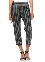 Apt. 9 Women's Tori Striped Capri Dress Pants
