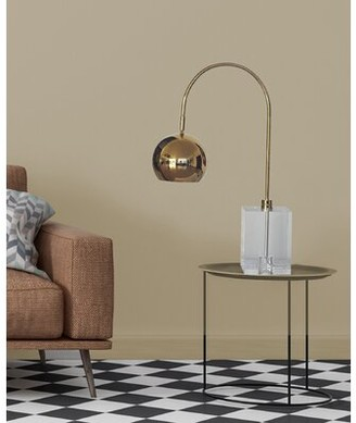 "Everly Quinn Gideon 27"" Arched Table Lamp Quinn"