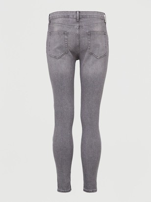 Topman Spray-On Jeans -Grey