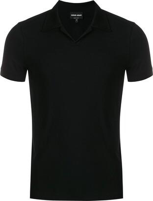 Giorgio Armani short-sleeve polo top