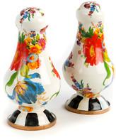 Mackenzie Childs MacKenzie-Childs - Flower Market Salt & Pepper Shakers - White